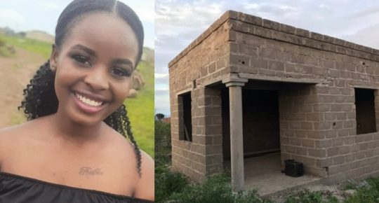 Lady who earns less than 50K salary shares photo of her house