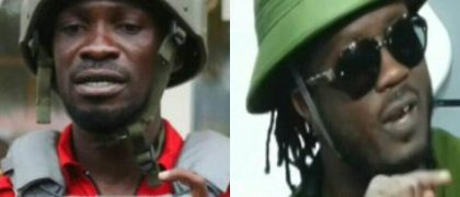 Bebe Cool obsessed with Bobi Wine, Copies his dressCode