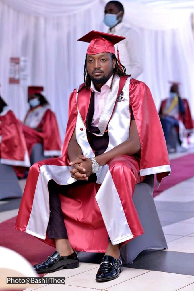 Photos - Bebe Cool's son Allan Hendrik graduates as a Software Engineer