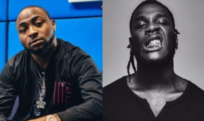VIDEO - Davido and Burna Boy fight, guests run for their lives
