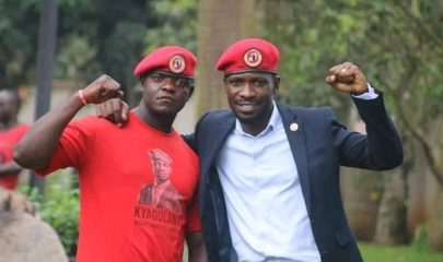 Mr Francis Senteza Kalibala, one of his personal bodyguards. Kyagulanyi claims that Senteza was run over by a military's truck in Busega