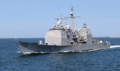 Exclusive - Inside the US Navy Ship Docked at Mombasa