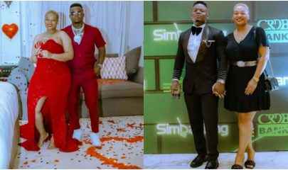 Harmonize buys a brand new car for his girlfriend Frida