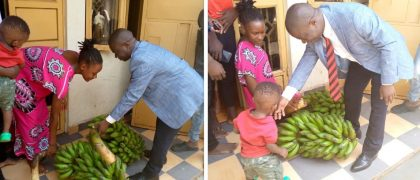 Segirinya Pays Rent & Takes food for imprisoned Pympah Promotionz Wife