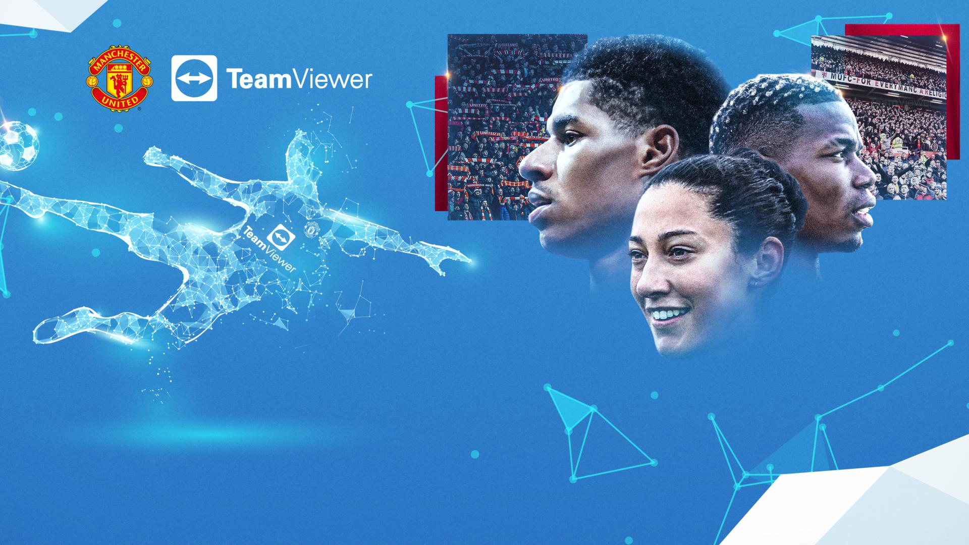 Manchester United sign a £235m shirt sponsorship Deal with TeamViewer