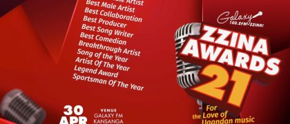 Full List: Galaxy FM opens up Nominations for the Zzina Awards 2021