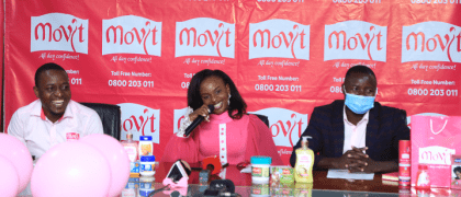 OFFICIAL – Movit unveils baby Gloria as new brand ambassador
