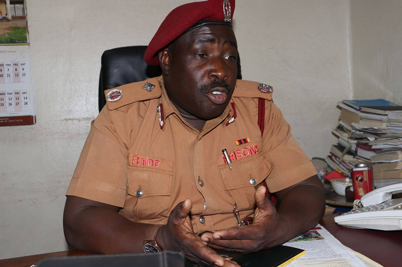 Uganda Prisons Public Relations Officer, Frank Baine