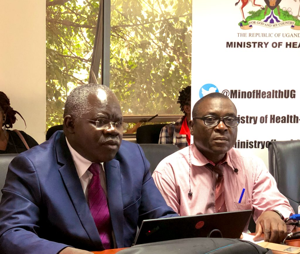 Programme Manager of the United National Expanded Programme on Immunization Dr. Alfred Driwale