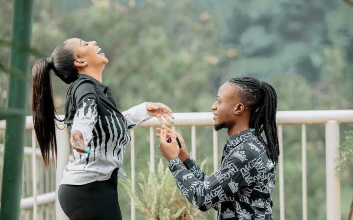 Bad Black Over The Moon As Boyfriend Asha Panda Proposes To Her