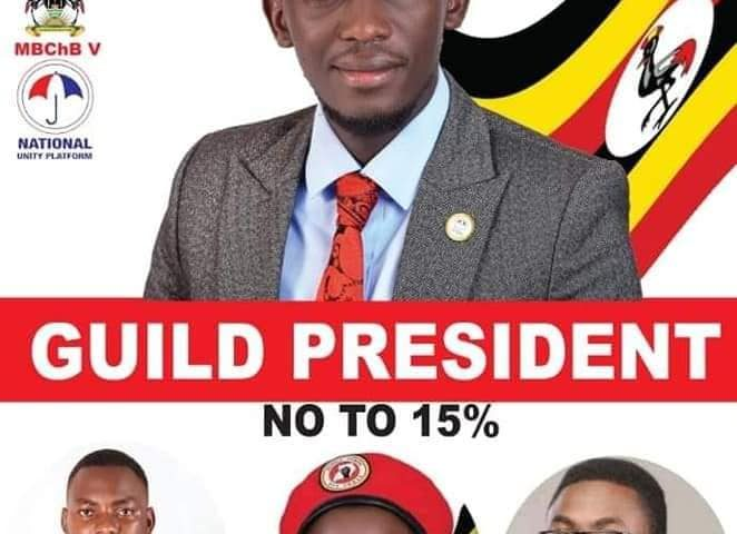 NUP's Ssempijja Ivan voted Next Guild President of Makerere University