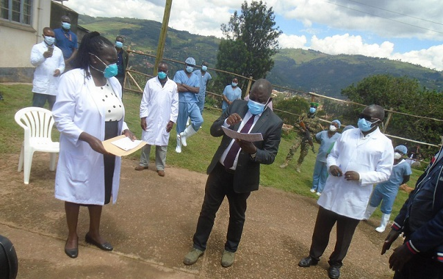 Covid-19 patients overwhelm Kabale Regional Referral hospital