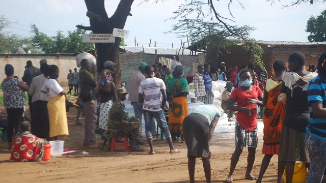 Gov't donates food to Moroto residents amidst rising cases of famine
