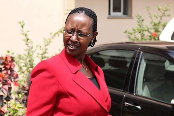 Ms Alice Kaboyo finally sworn in as a Minister