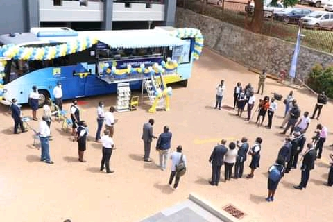 URA launches Mobile buses to enhance connectivity