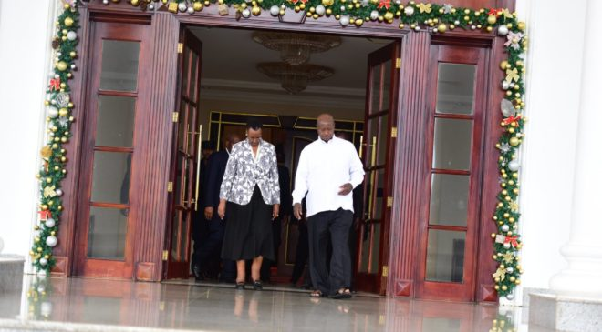 President Museveni and wife drive Twitter into a frenzy with love