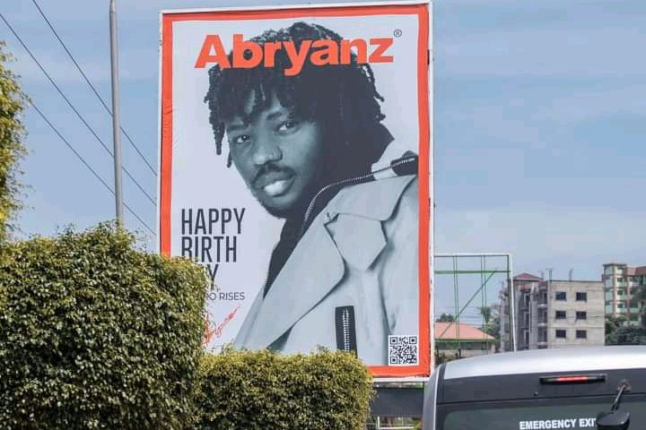 Abryanz's Fans take over Billboards for Birthday Wishes in November